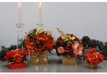 Holiday Floral Truffle Box
